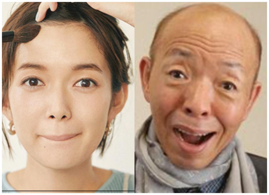 佐藤栞里さんと坂田利夫さんの画像