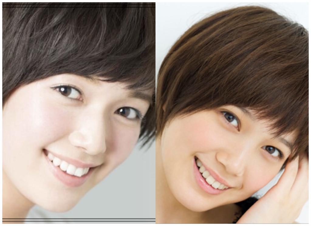 佐藤栞里さんと本田翼さんの画像