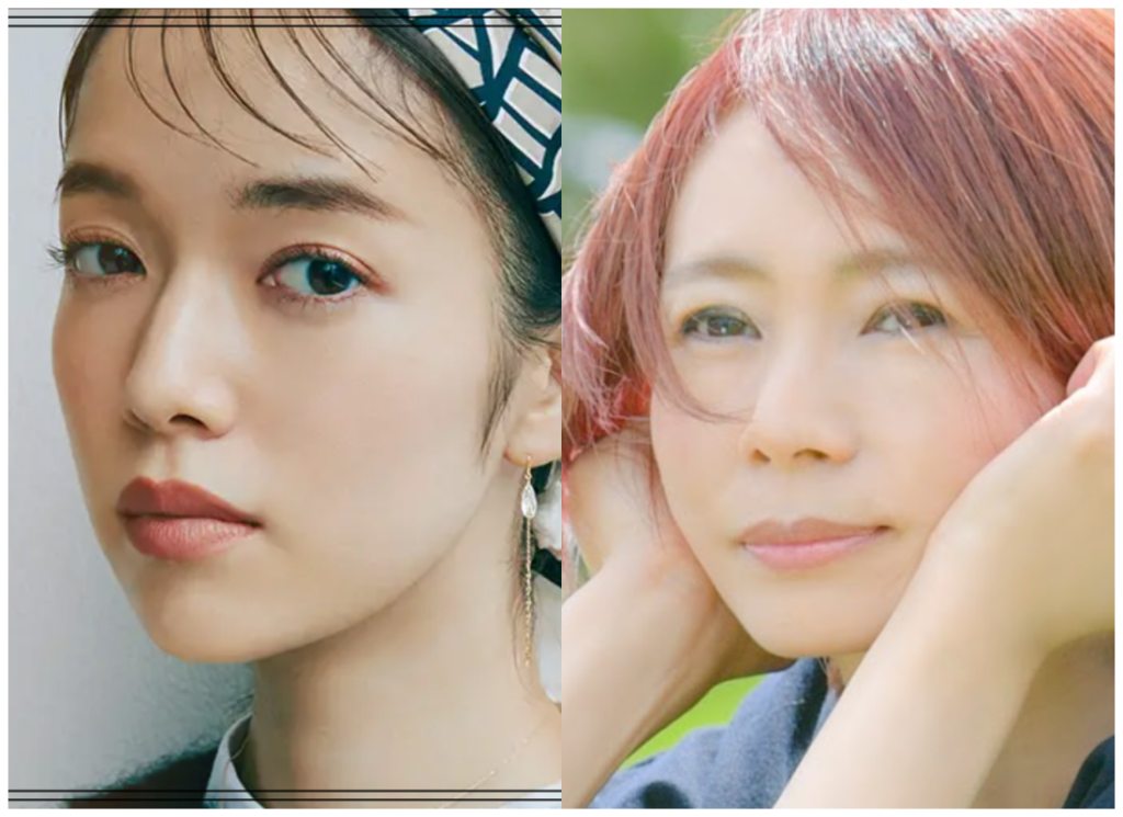 佐藤栞里さんと永井真理子さんの画像