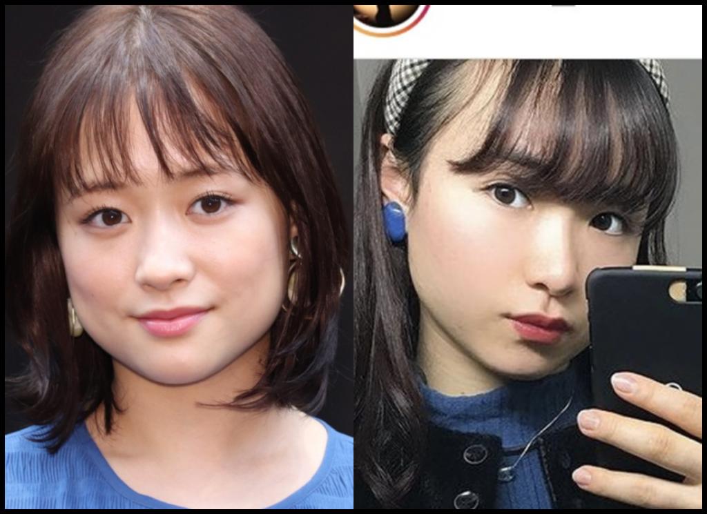 伊藤美誠選手と大原櫻子さんの画像