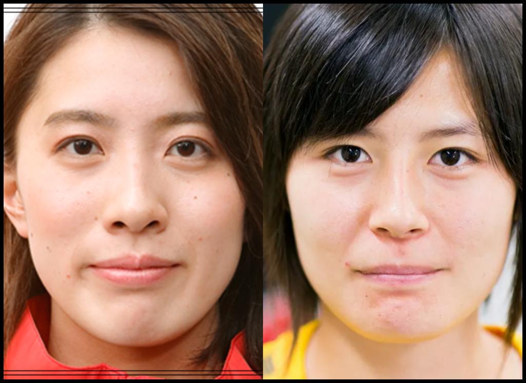 大橋悠依選手と猶本光さんの画像