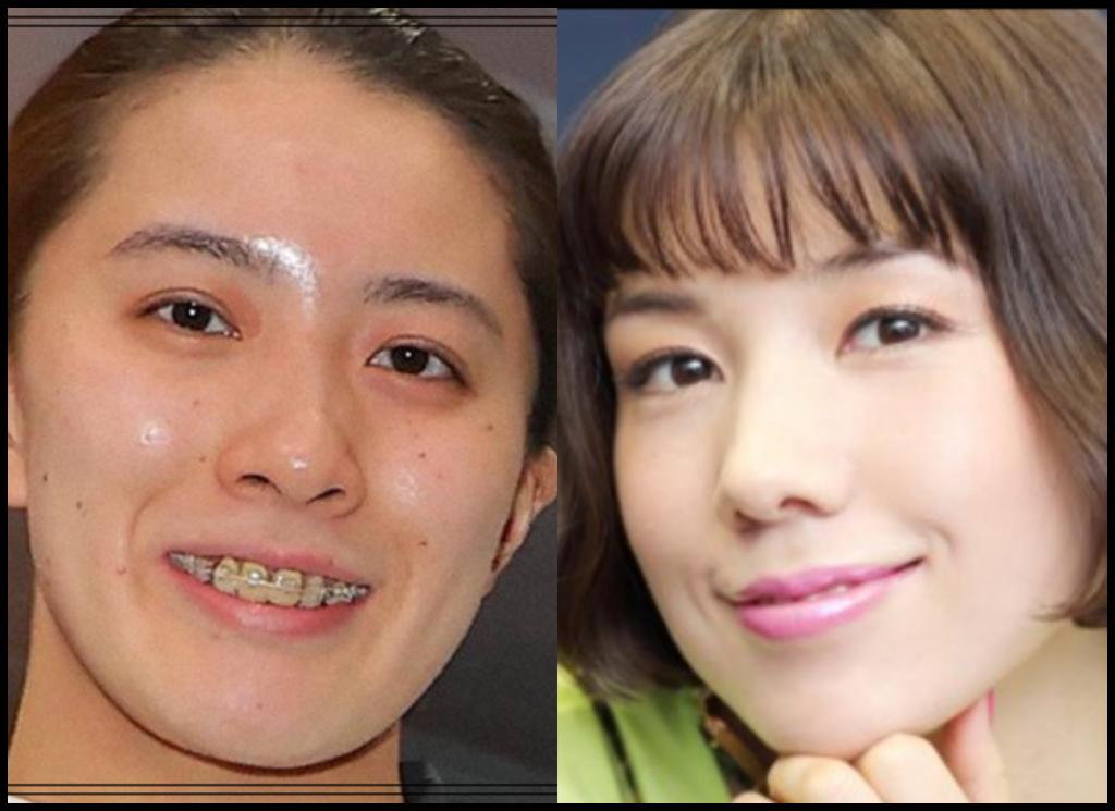 大橋悠依選手と仲里依紗さんの画像