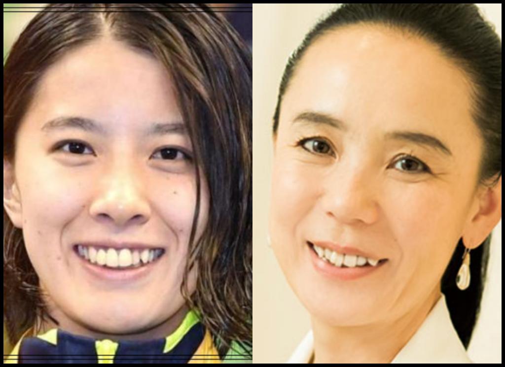 大橋悠依選手と河瀬直美さんの画像