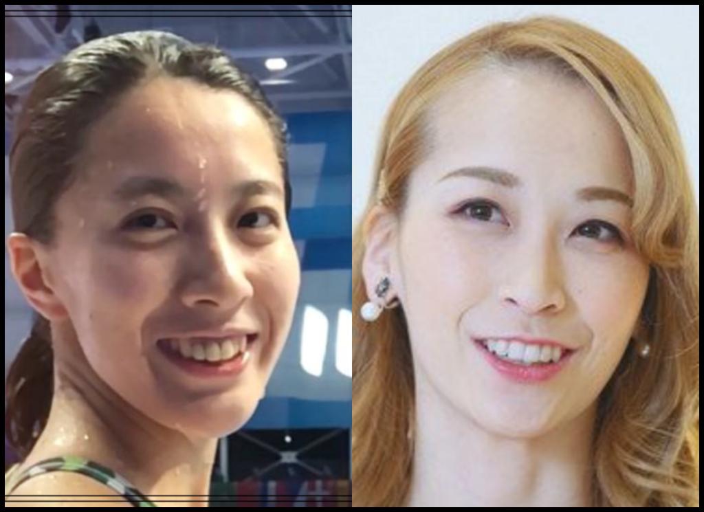 大橋悠依選手と海乃美月さんの画像