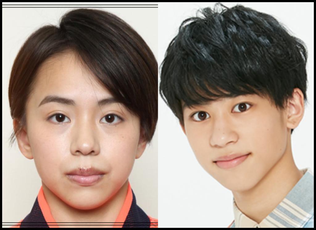 村上茉愛選手と當間琉巧さんの画像