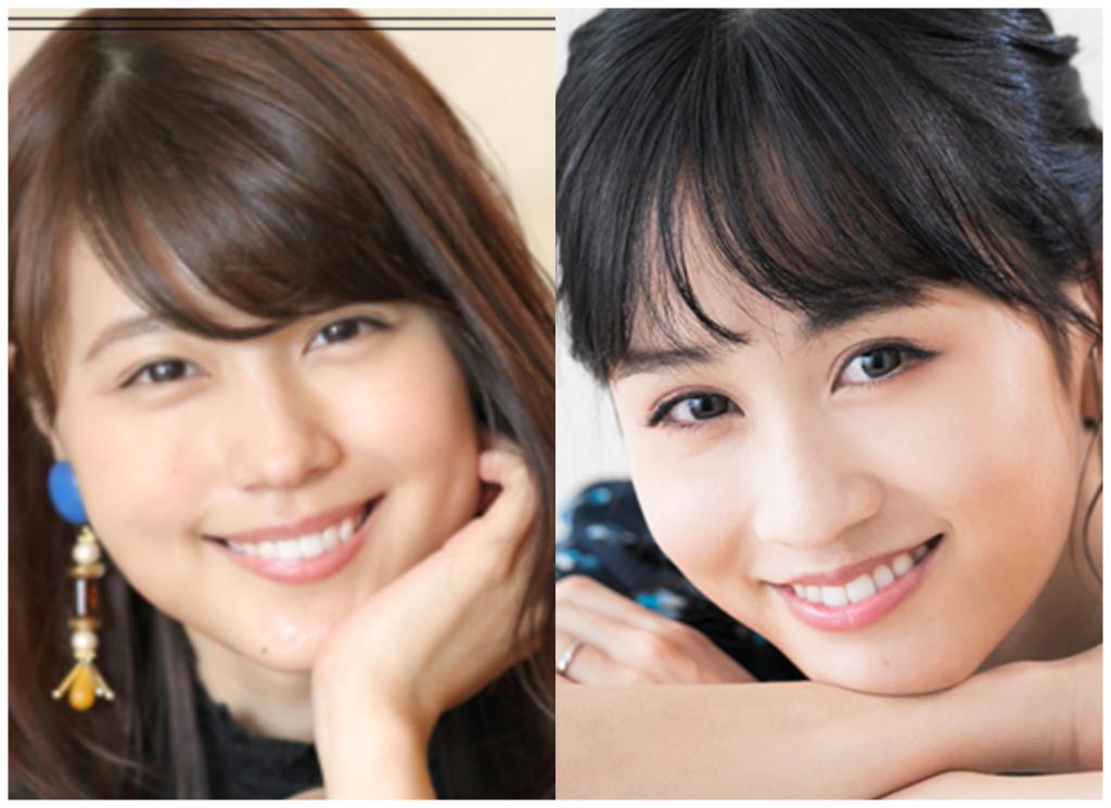 有村架純さんと前田敦子さんの画像