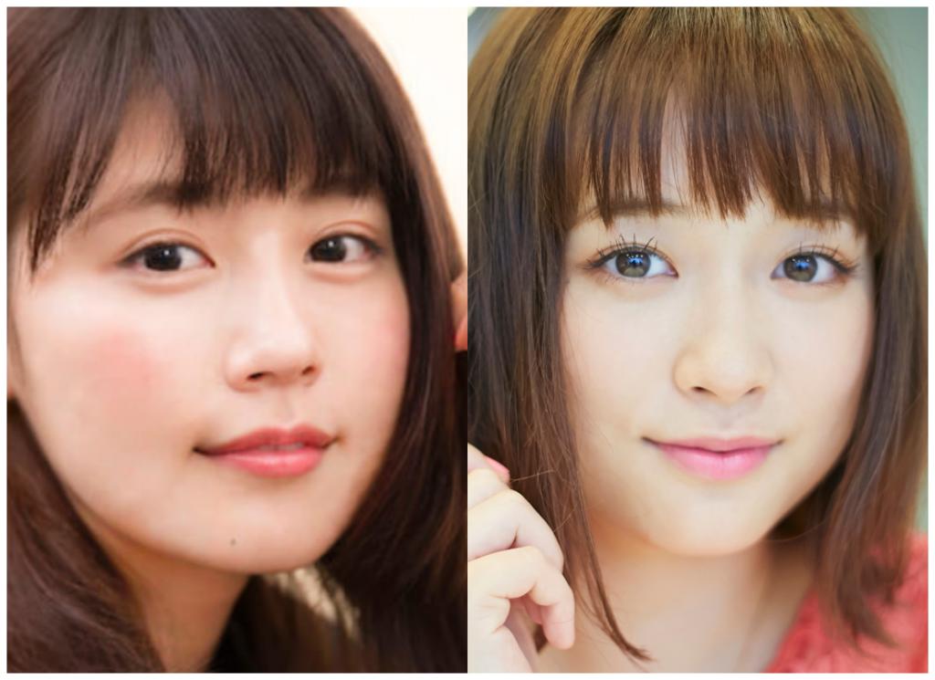 有村架純さんと大原櫻子さんの画像