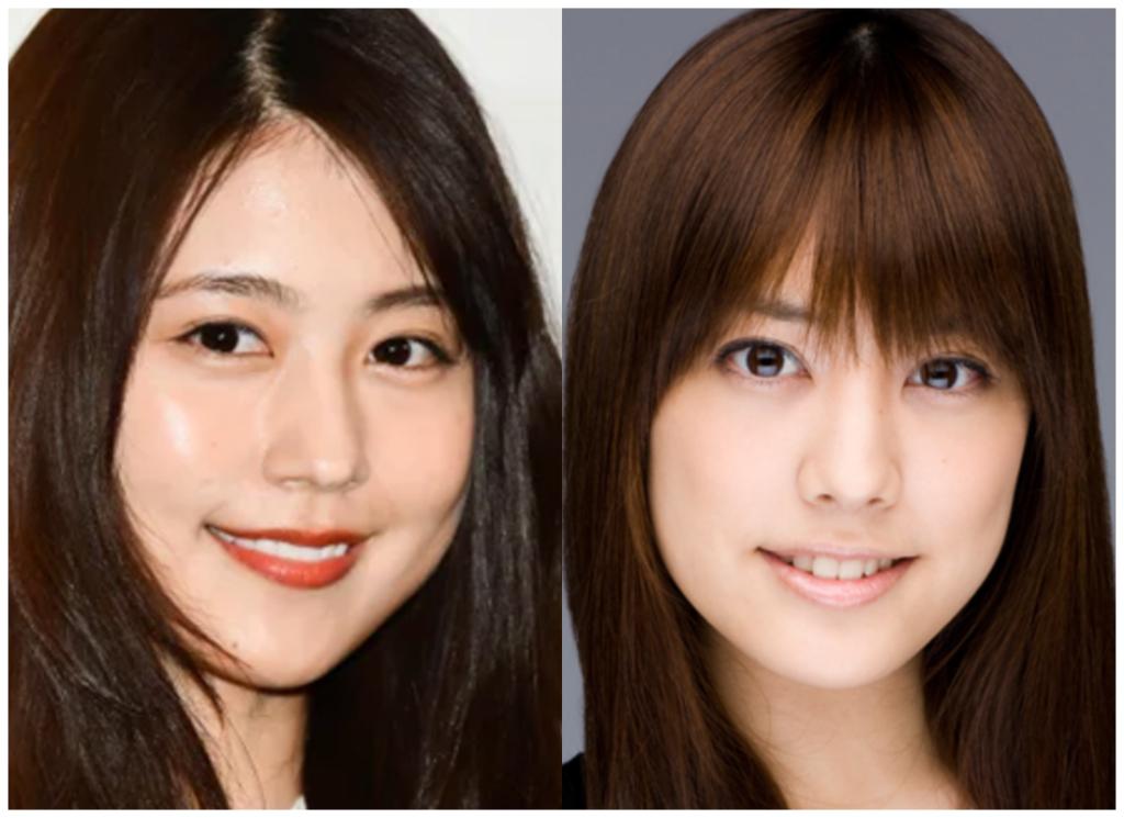 有村架純さんと福田沙紀さんの画像