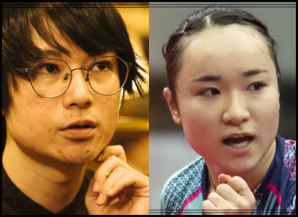 伊藤美誠選手と水川かたまりさんの画像