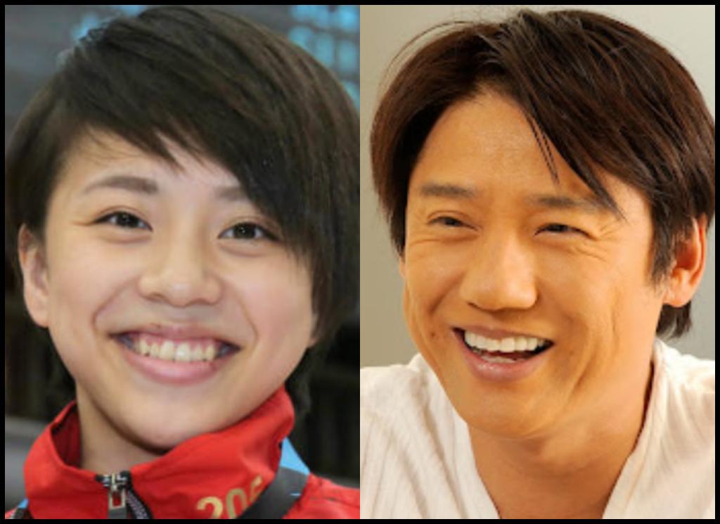 村上茉愛選手と池谷幸雄さんの画像
