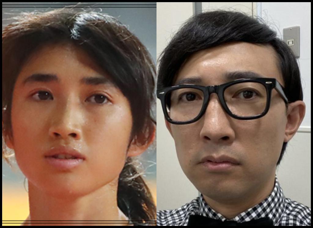 田中希実選手とこがけんさんの画像