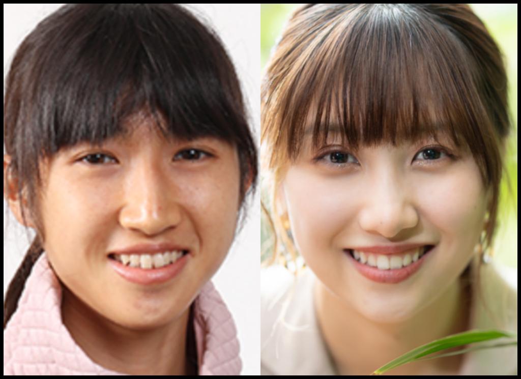 田中希実選手と佐藤優樹さんの画像