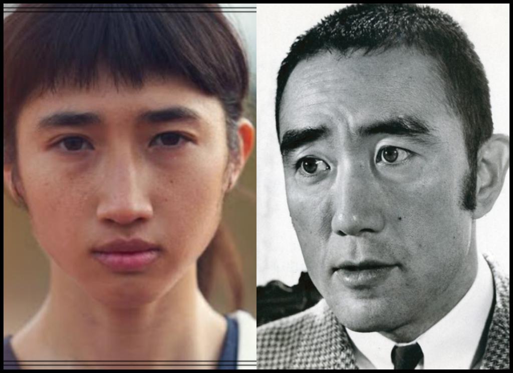 田中希実選手と三島由紀夫さんの画像