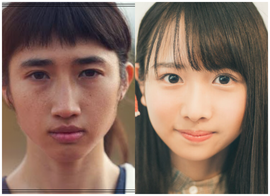 田中希実選手と上村ひなのさんの画像