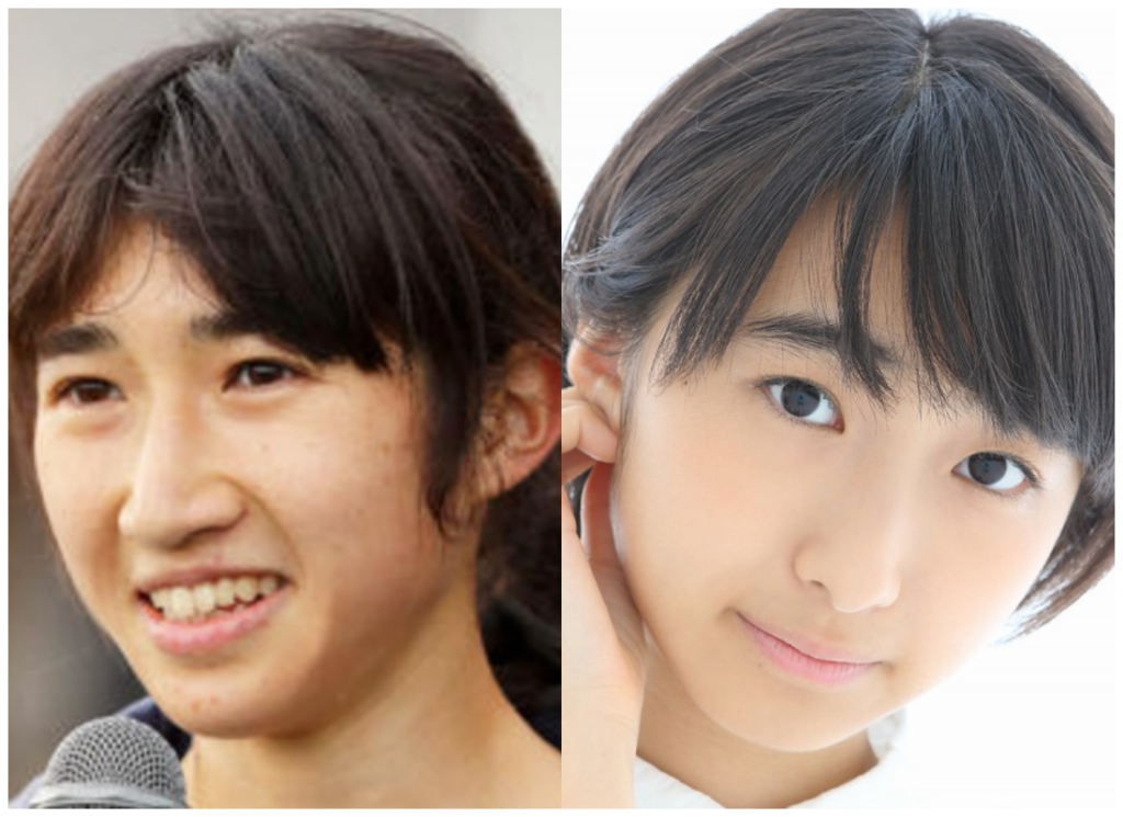 田中希実選手と塚本颯来さんの画像