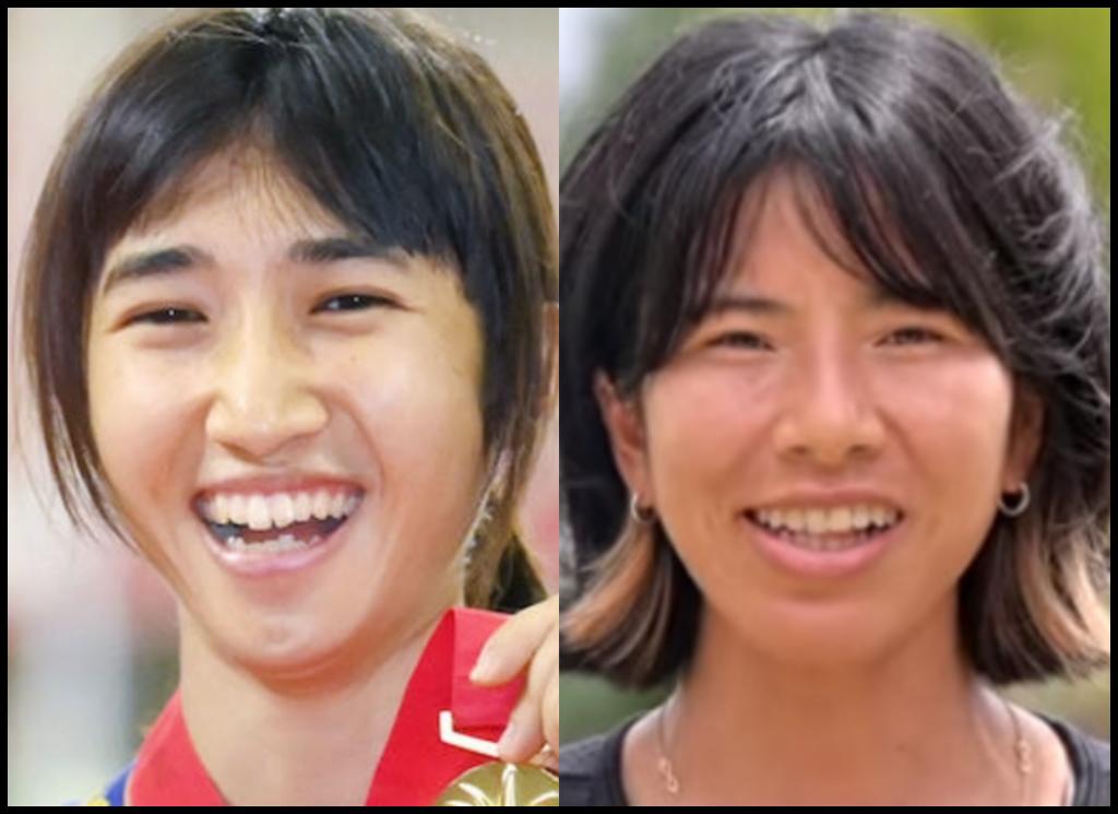 田中希実選手と新谷仁美さんの画像