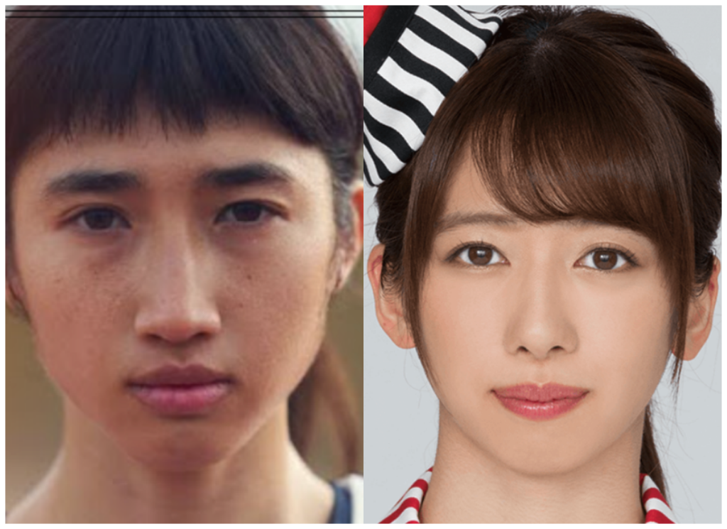 田中希実選手と真山りかさんの画像