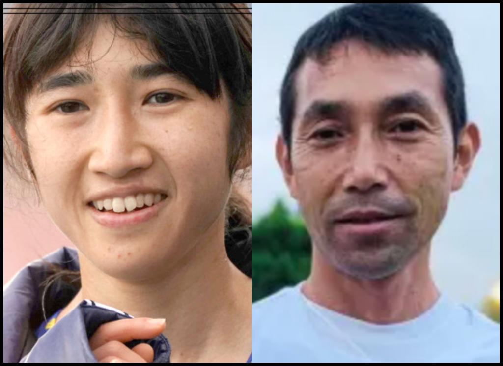田中希実選手と田中健智さんの画像