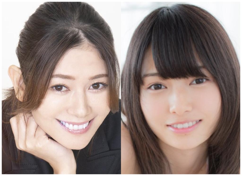 真木よう子さんと滝口ひかりさんの画像
