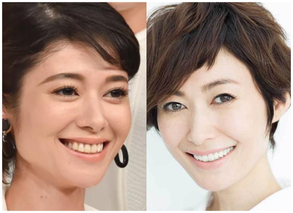 真木よう子さんと田丸麻紀さんの画像
