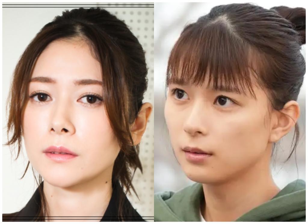 真木よう子さんと芳根京子さんの画像