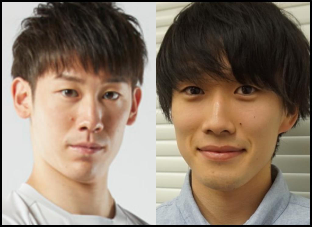 石川祐希選手と水溜りボンドのカンタさんの画像
