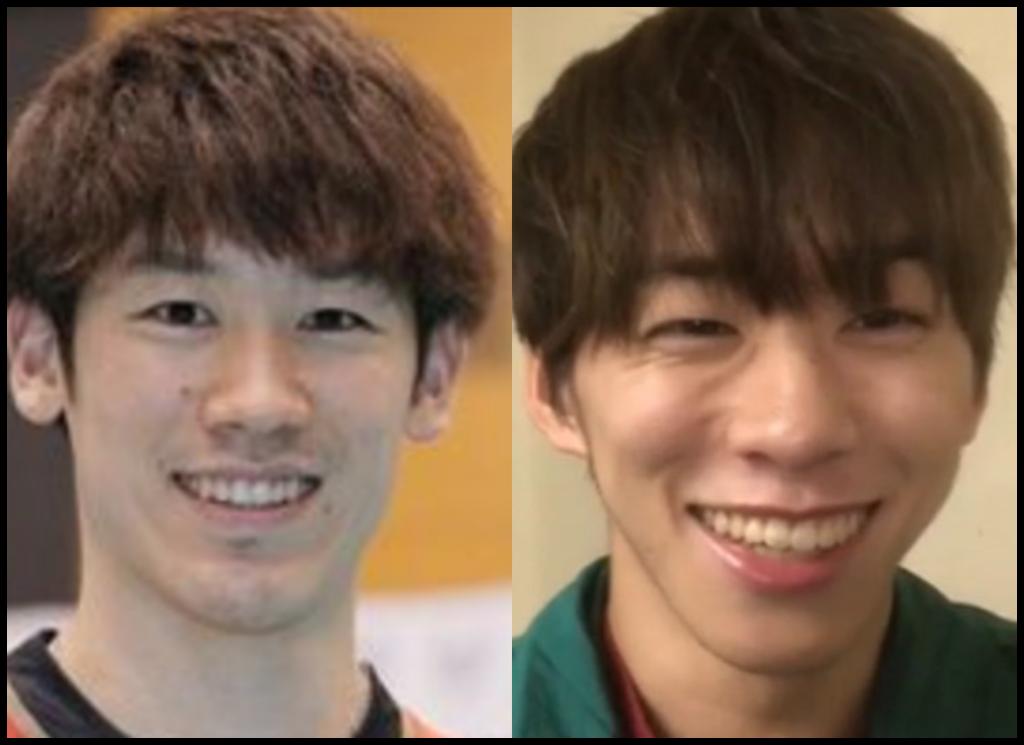 石川祐希選手と基俊介さんの画像