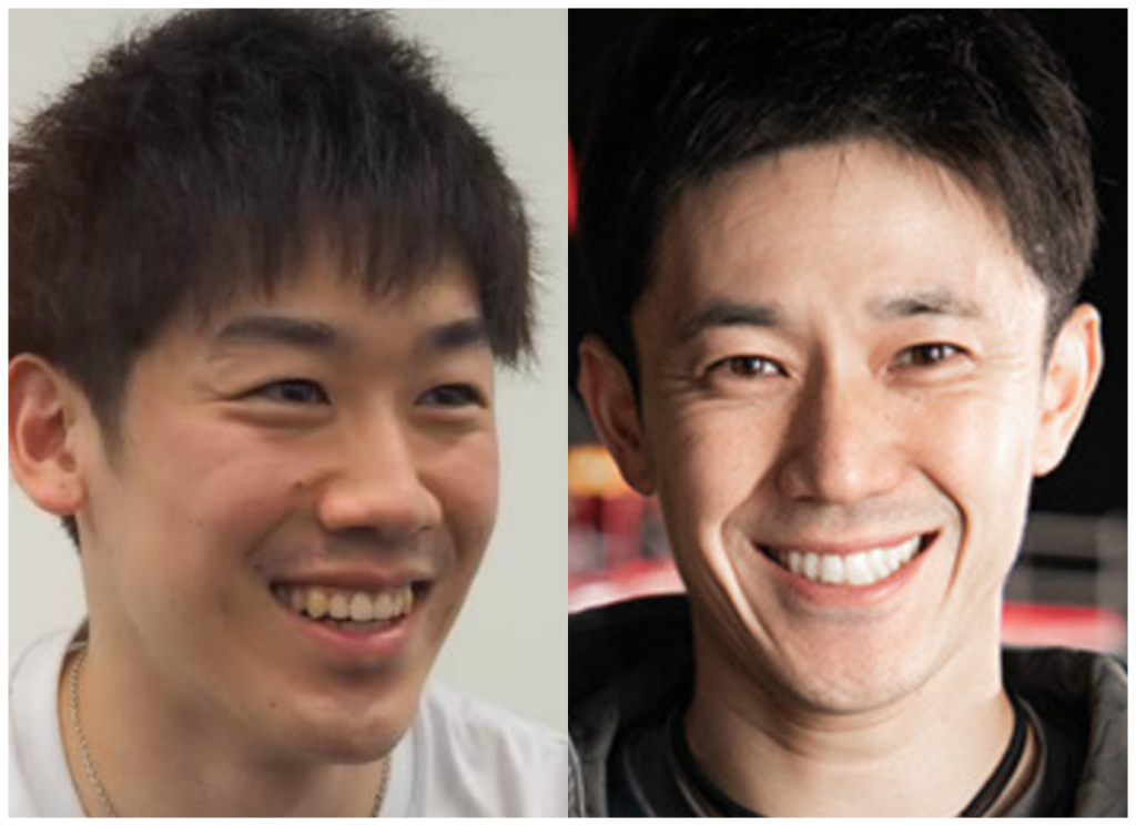 石川祐希選手と森渉さんの画像