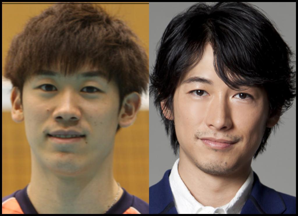 石川祐希選手とディーンフジオカさんの画像