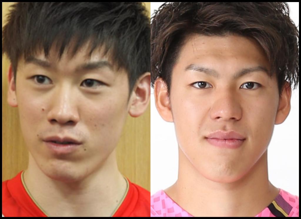 石川祐希選手と保岡龍斗さんの画像