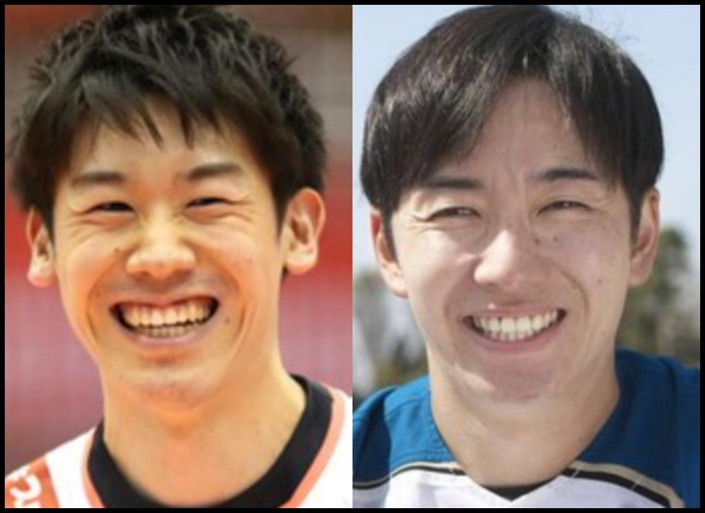 石川祐希選手と斎藤佑樹さんの画像
