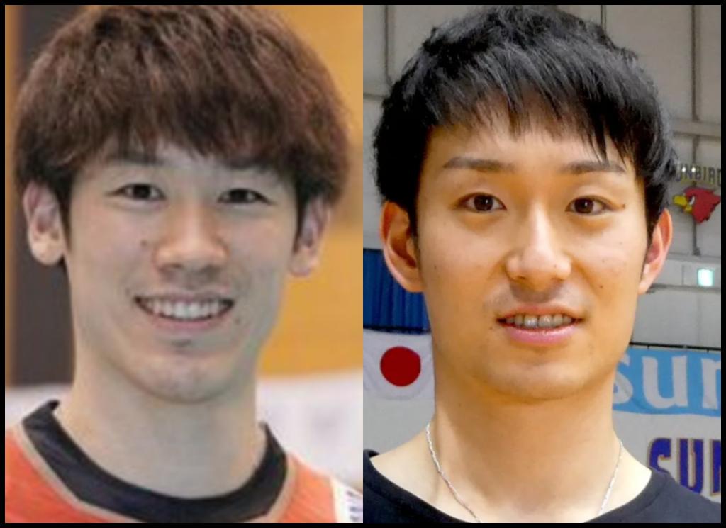 石川祐希選手と柳田将洋さんの画像