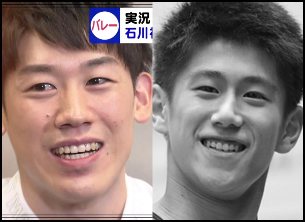 石川祐希選手と橋本大輝さんの画像