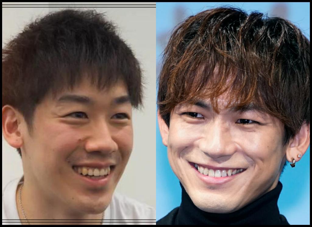 石川祐希選手とNAOTOさんの画像