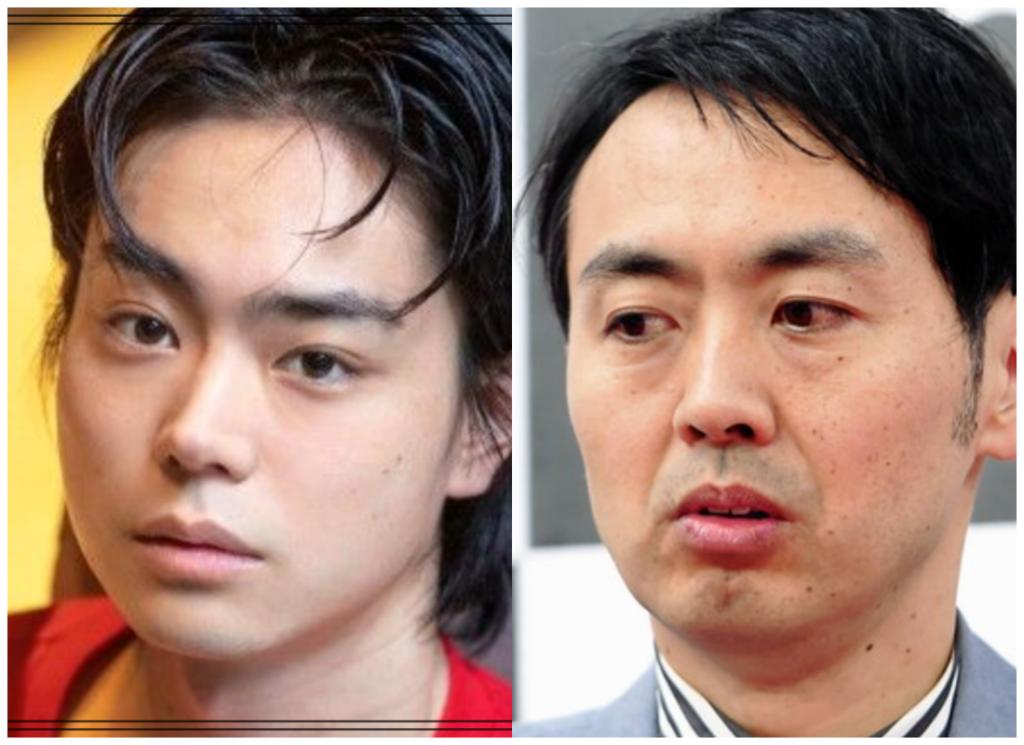 菅田将暉さんとアンガールズ田中さんの画像