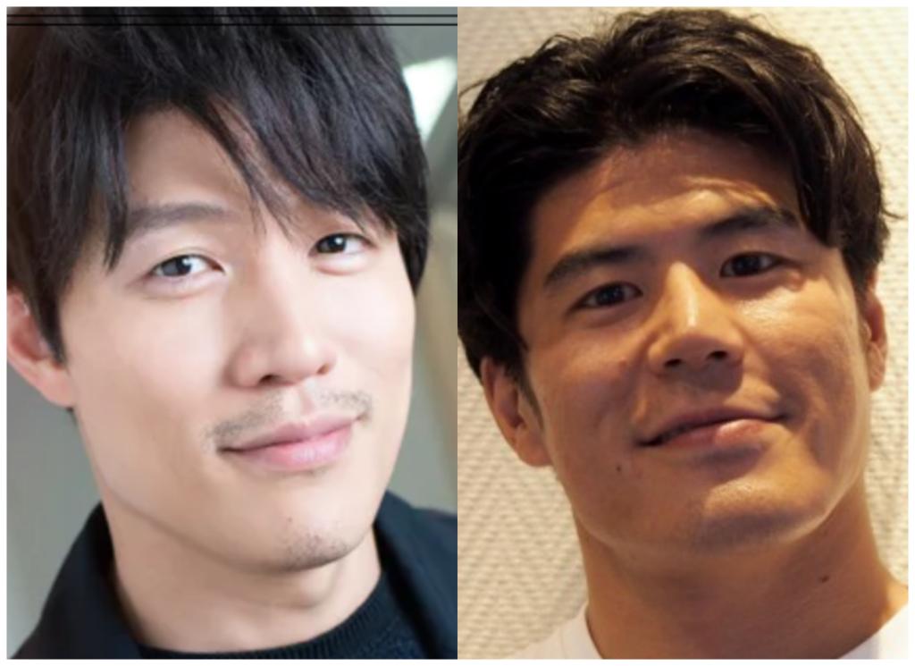 鈴木亮平さんと板橋駿谷さんの画像
