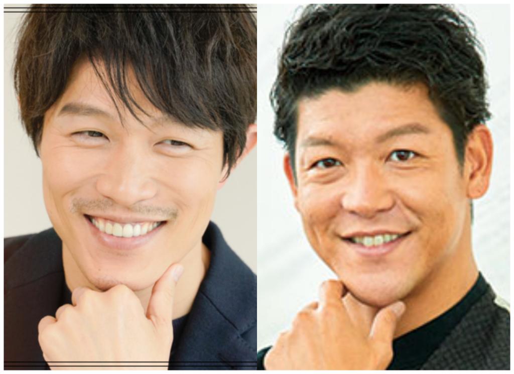 鈴木亮平さんと駿河太郎さんの画像