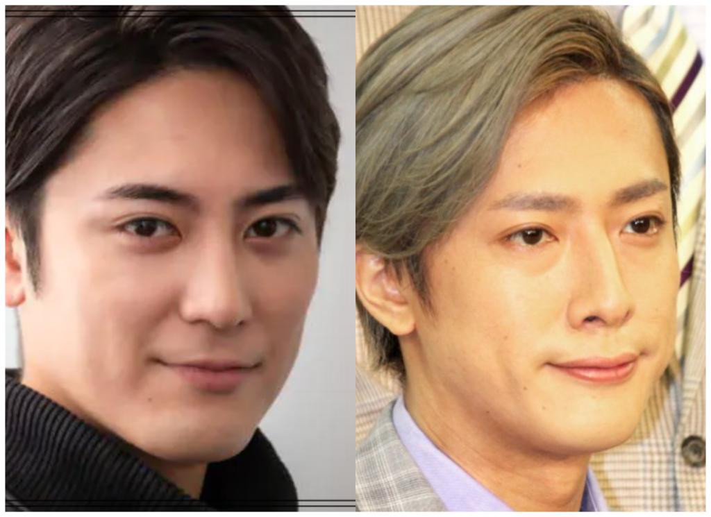 間宮祥太朗さんと内博貴さんの画像