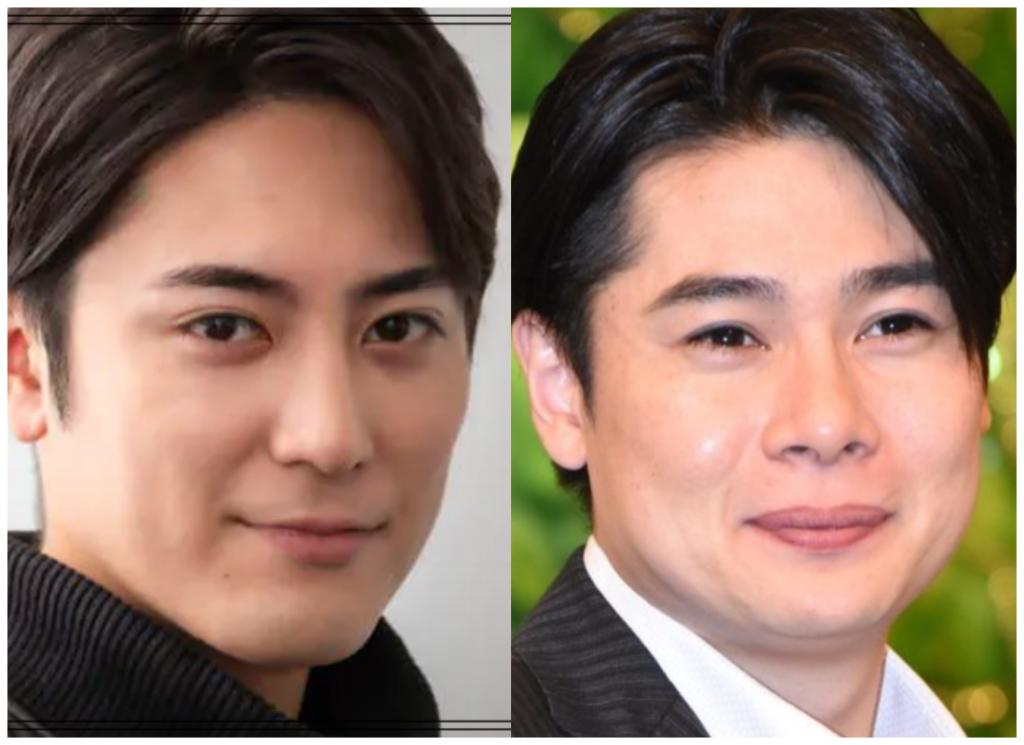 間宮祥太朗さんと吉村崇さんの画像