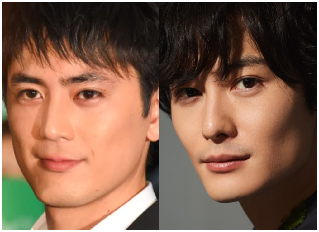 間宮祥太朗さんと岡田将生さんの画像