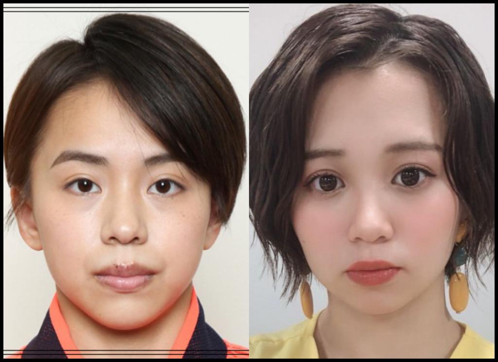 村上茉愛選手と高木紗友希さんの画像