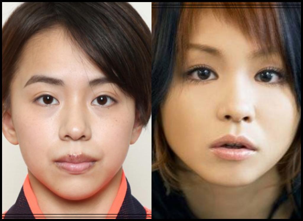 村上茉愛選手とmisonoさんの画像