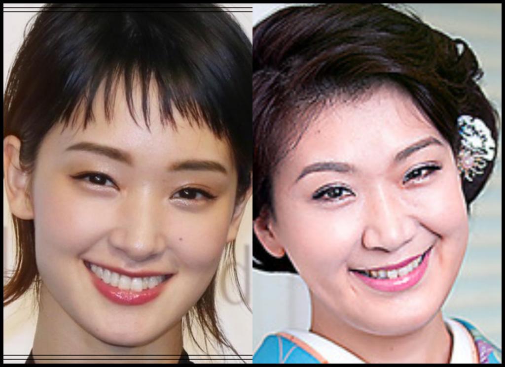 剛力彩芽さんと市川由紀乃さんの画像