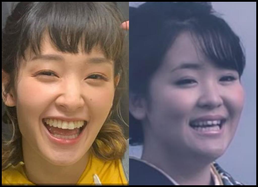 剛力彩芽さんと朝花美穂さんの画像