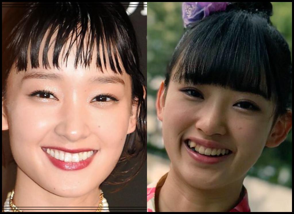 剛力彩芽さんと歌田初夏さんの画像