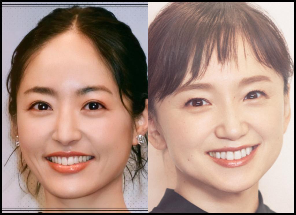 井上真央さんと永作博美さんの画像