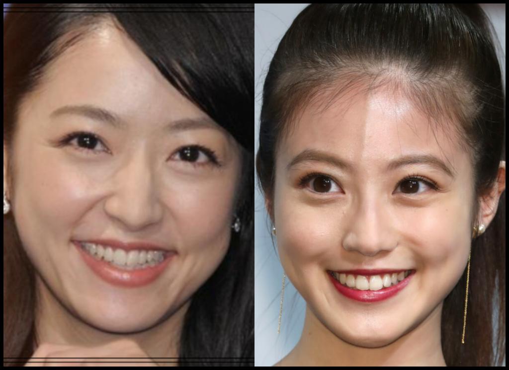 井上真央さんと今田美桜さんの画像