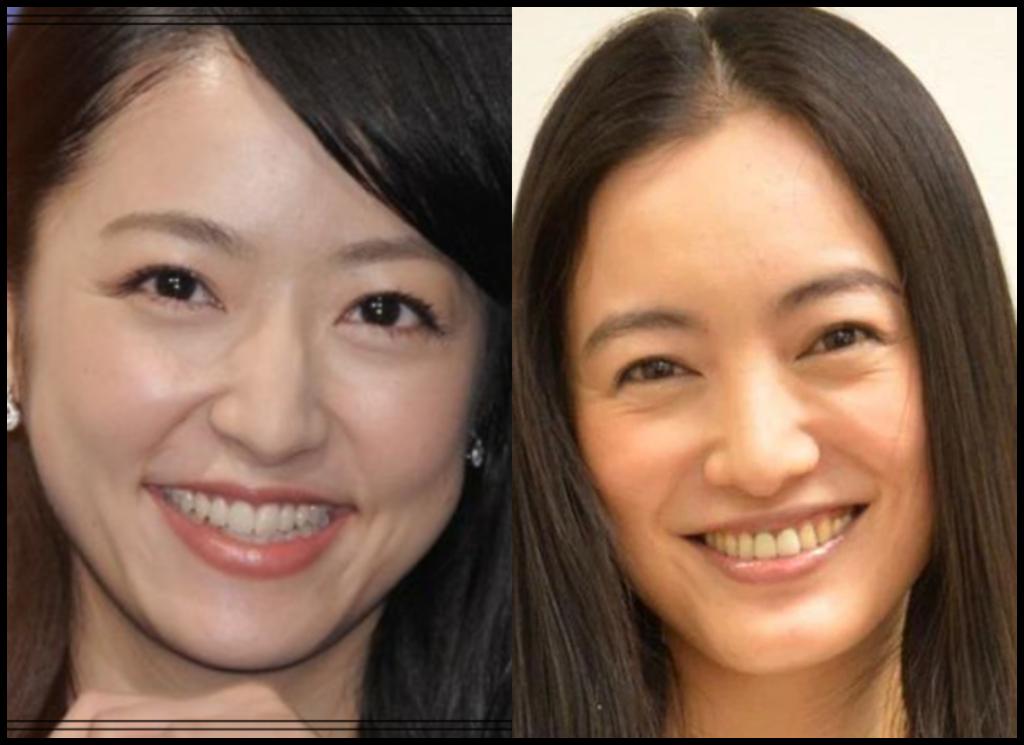 井上真央さんと仲間由紀恵さんの画像