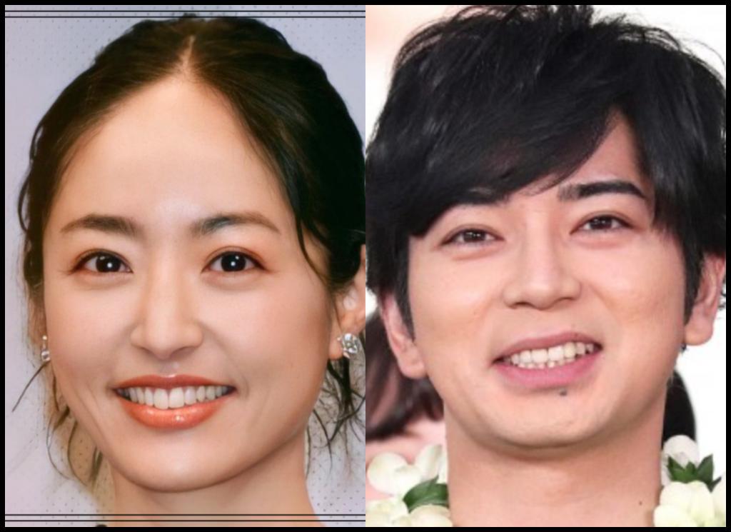 井上真央さんと松本潤さんの画像