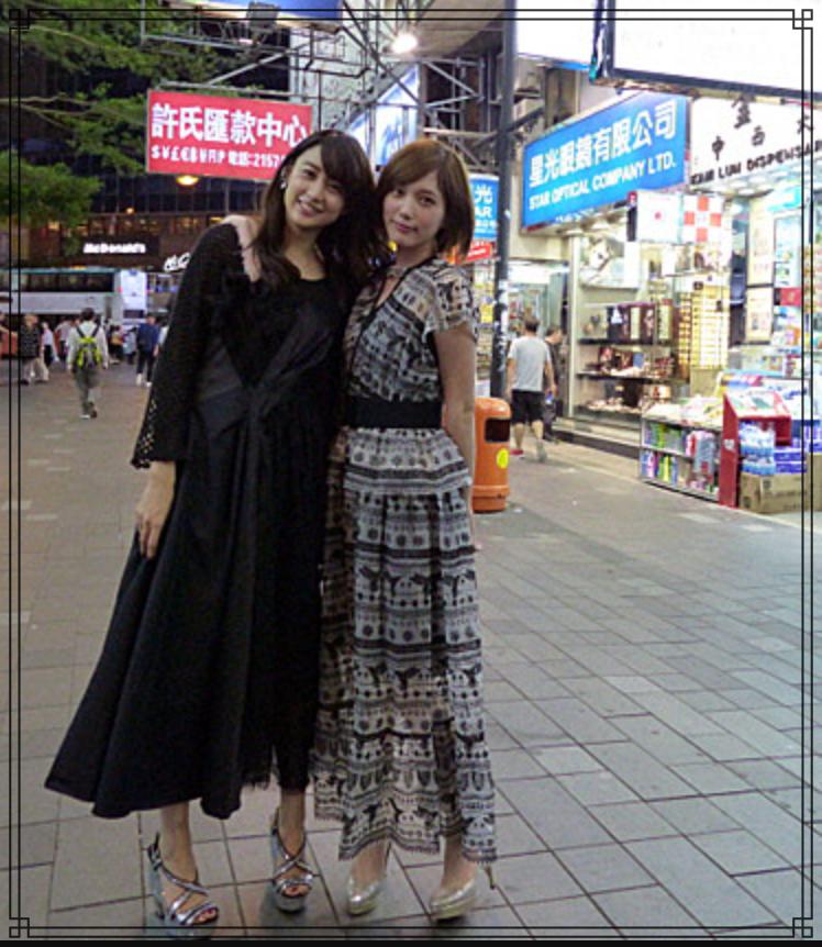 本田翼さんと山本美月さんの画像